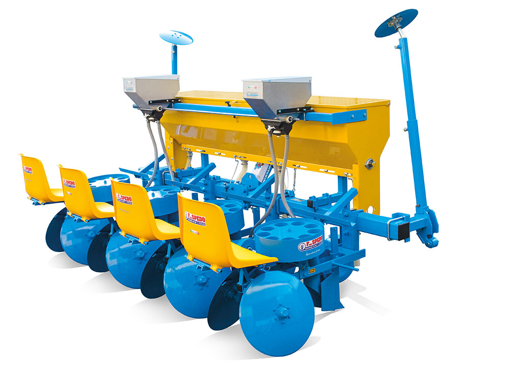 Semi-automatic potato planter