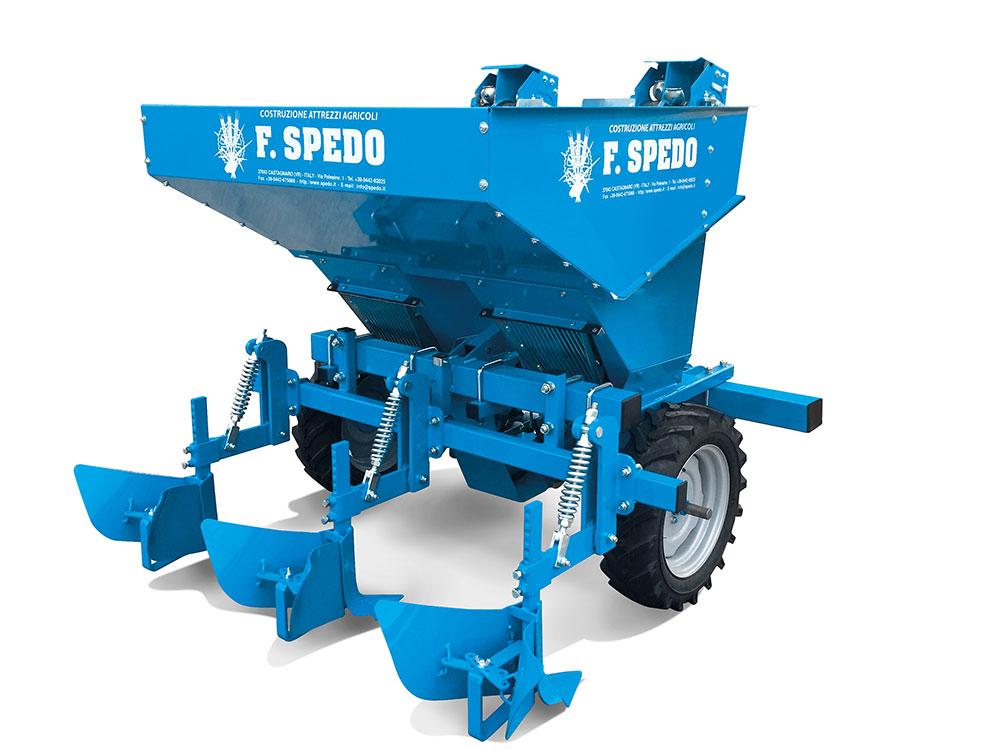 Planteuse de pommes de terre automatique