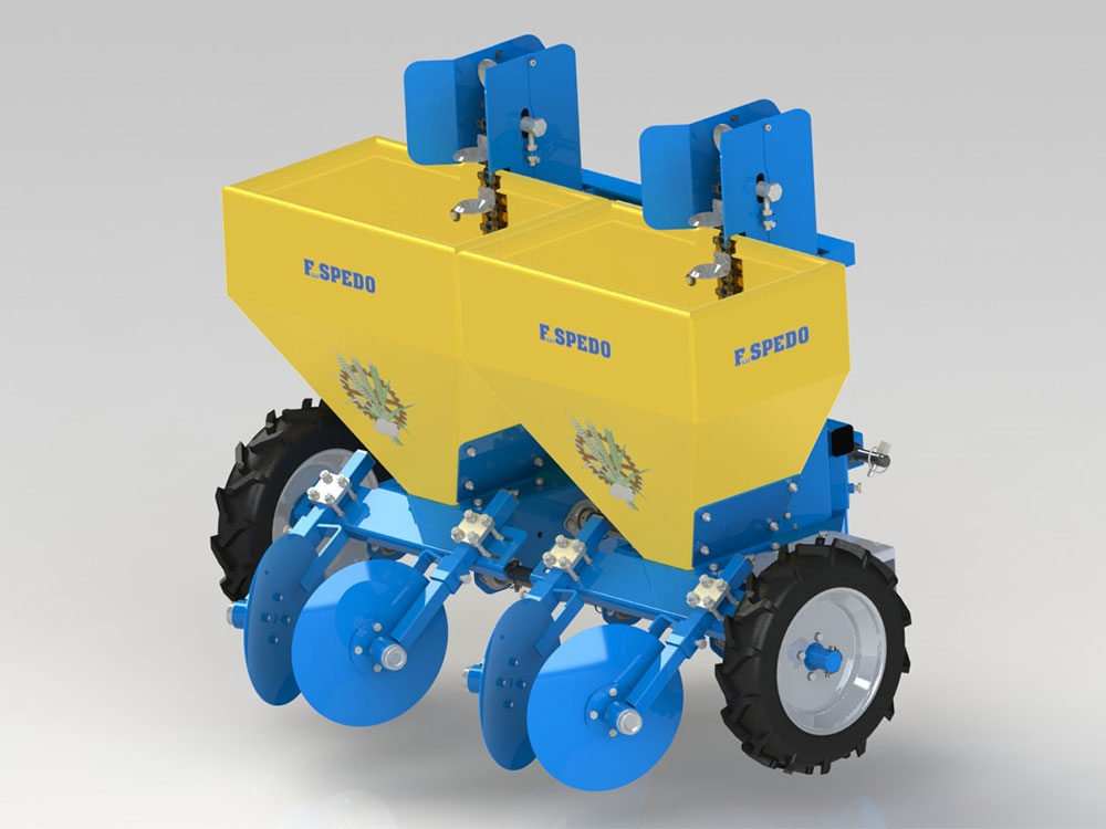 Automatic potato planter Baby